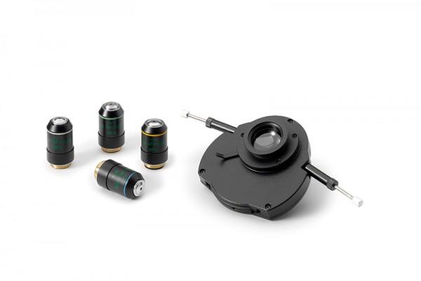Okular (Einelstück) HWF 10x/22mm mit Mikrometerfadenkreuz