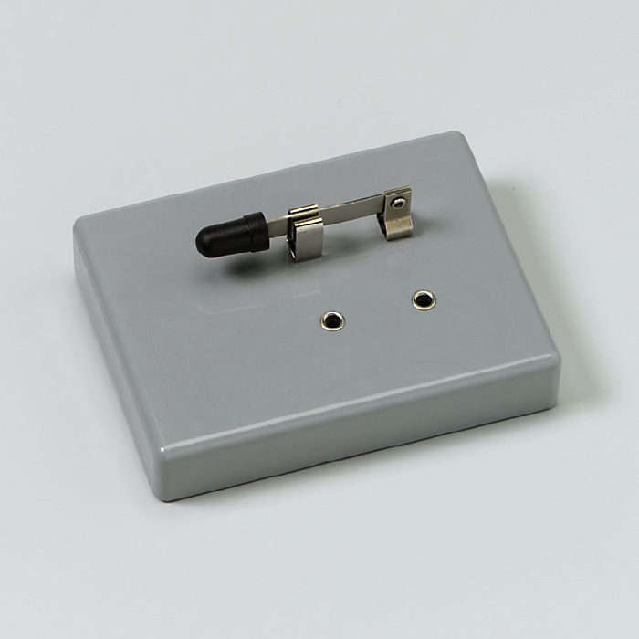 Hebel-Schalter, einpolig, auf Sockel | SchalterArbeits- und ...