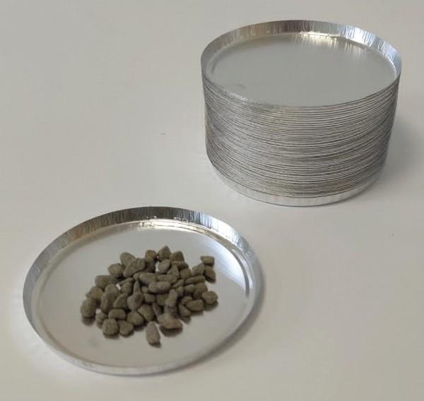 Einweg Probenschalen aus Aluminium