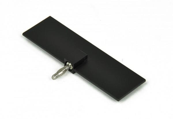 Blende mit Stecker, L=100 mm, 10 g