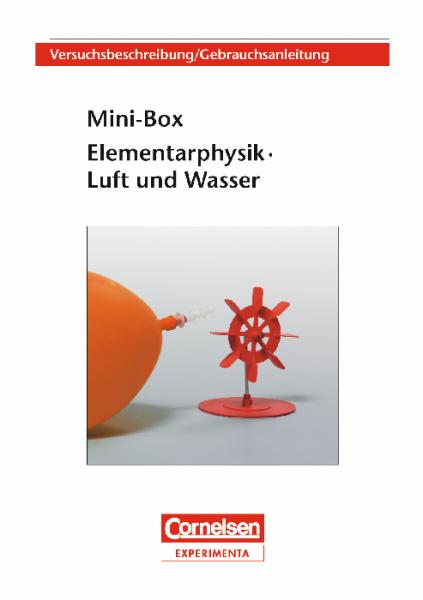 """Versuchsanleitung """"Mini-Box Luft und Wasser"""""""