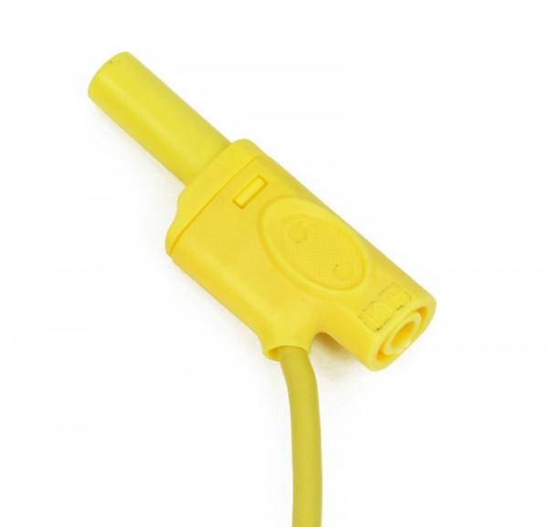 Sicherheitsverbindungsleitung, gelb, 12 cm