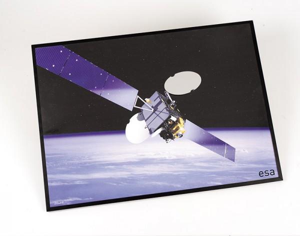 Satellitenspiegel groß, mit Gelenk