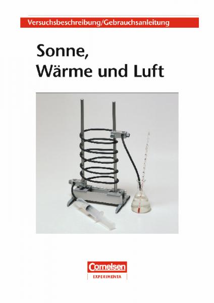 """Versuchsanleitung """"Sonne, Wärme und Luft"""""""