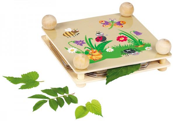 Krabbelkäfer Blatt- und Blütenpresse