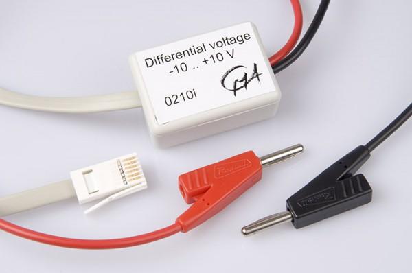 Sensor Spannung differential, ±10V