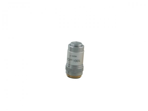 Objektiv 100x DIN achromatisch N.A. 1,25