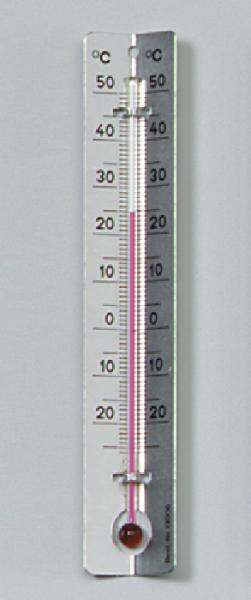Thermometer mit Metallskala, –25/+50 °C