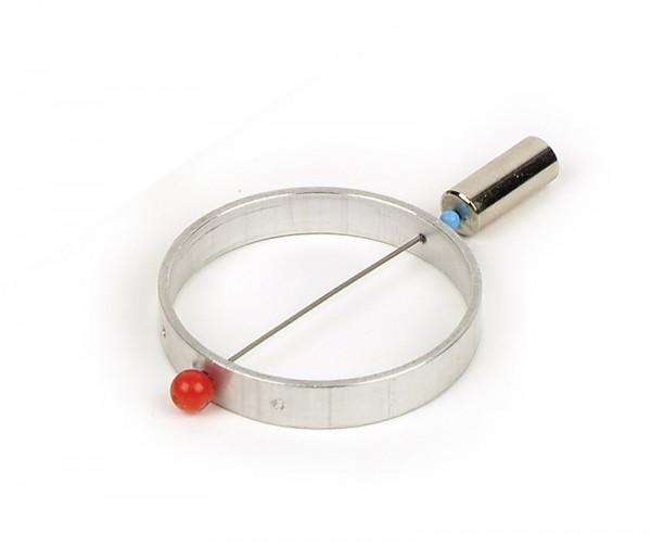 Aluring drehbar auf Stiel, D=60 mm