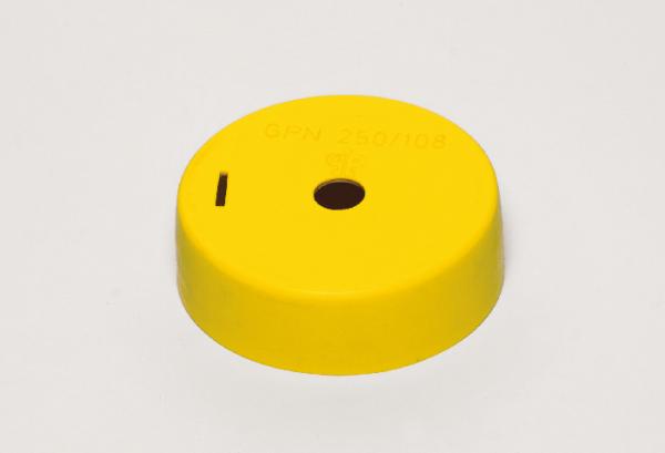 Deckel für galvanisches Element, 110 mmØ