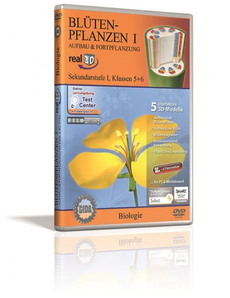Blütenpflanzen I - 3D Software