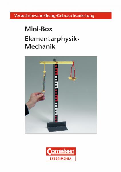 "Versuchsanleitung ""Mini-Box Mechanik"""