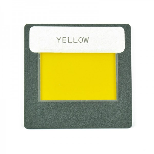 Farbfilter gelb