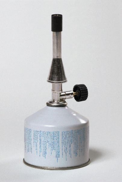 Teclubrenner mit Ventil-Gaskartusche