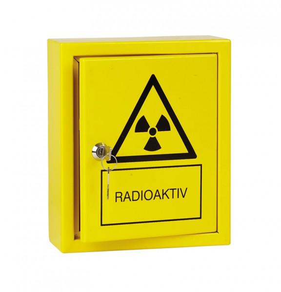 Aufbewahrungsschrank für radioaktive Stoffe