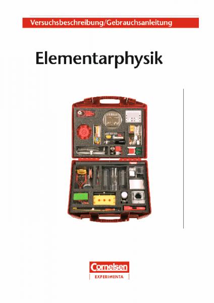"""Versuchsanleitung """"Elementarphysik"""""""