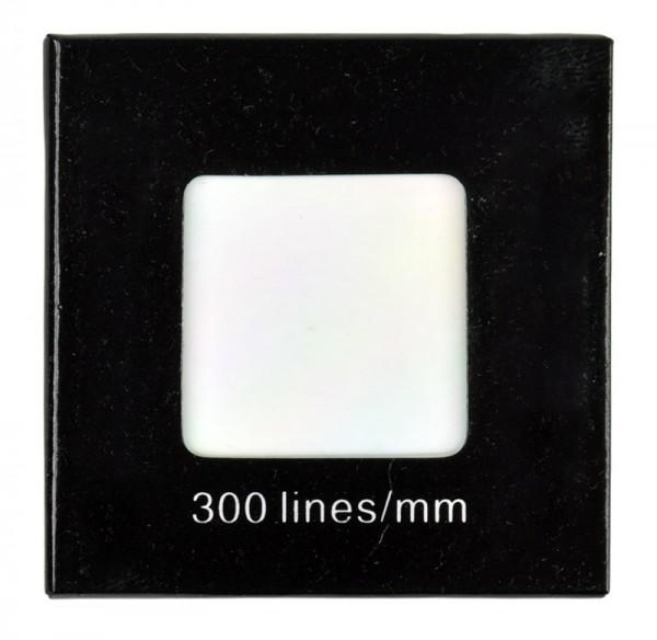Strichgitter, 300 Striche/mm
