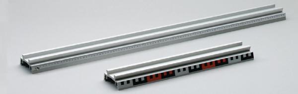 Profilschiene, Aluminium, 1000 mm, mit Skala