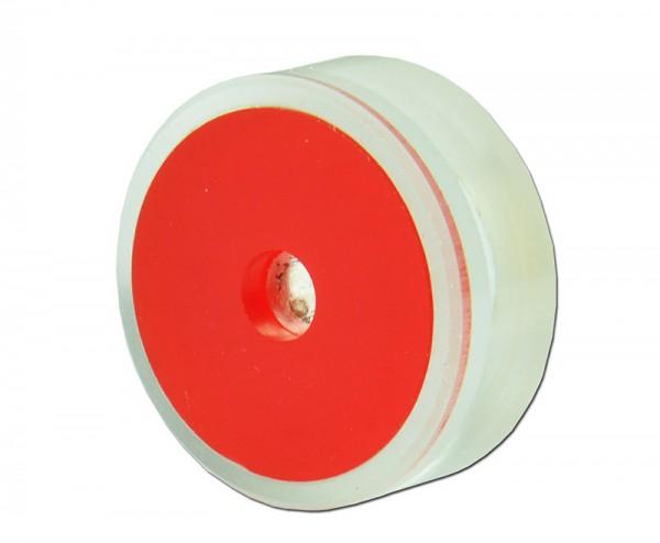 Präparat Po 210 (alpha-Strahler), rot