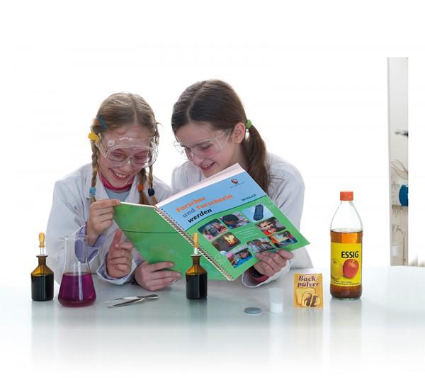 Experimentierbuch Forscher und Forscherin werden