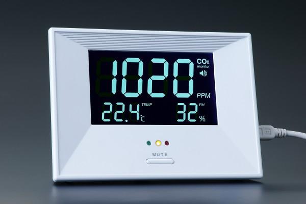 CO2 Luftqualitätsanzeigegerät