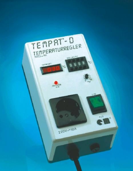 Temperaturregler, Typ Tempat für Pt 100, 0-400°C