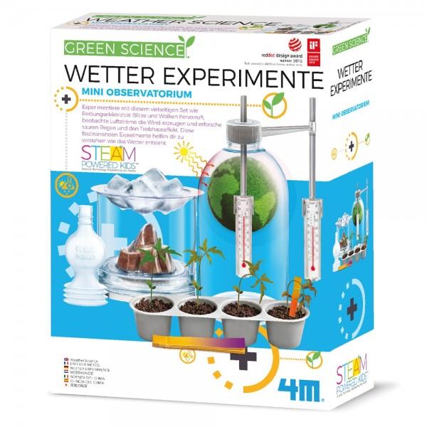 Wetter Experimente