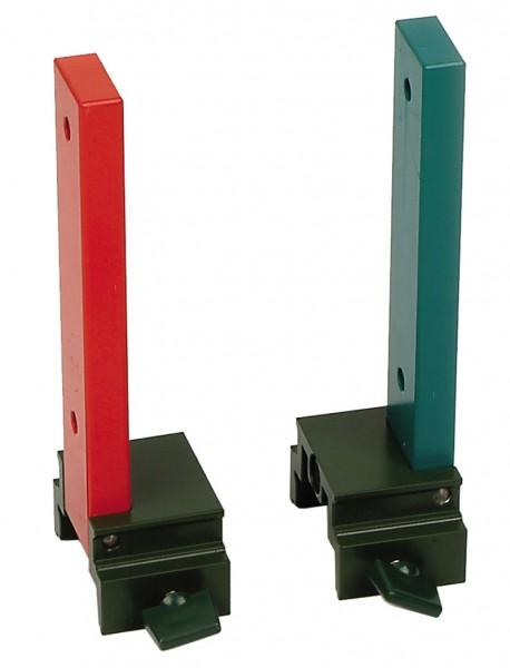 Magnetträger, rot-grün, Paar