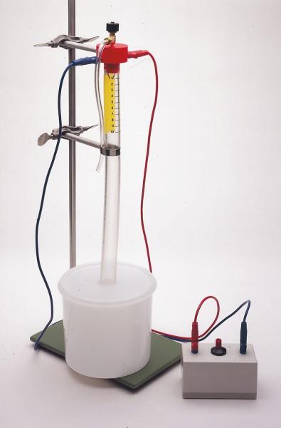 Sicherheits-Eudiometer nach Schager, ohne Zündfunkengeber