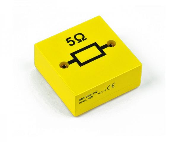 MBC Widerstand 5 Ohm, Belastbarkeit 10 W, Toleranz: ± 1%