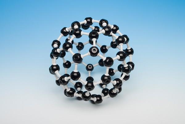 Molekülmodell Fulleren, klein