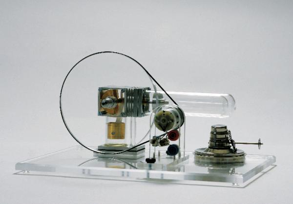Modellkörper halbkreisförmig, magnethaftend, R=100 mm