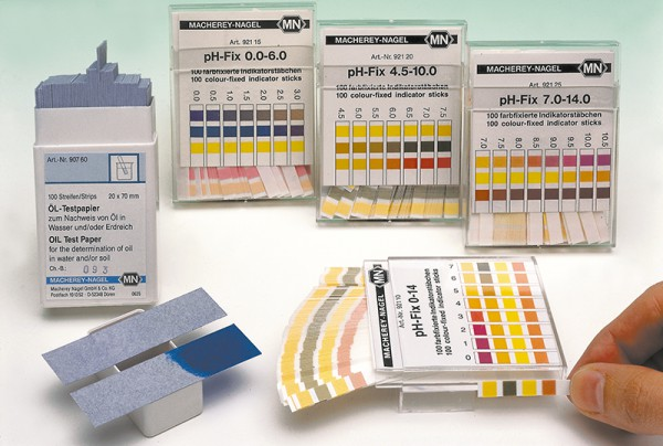 Öl-Testpapier