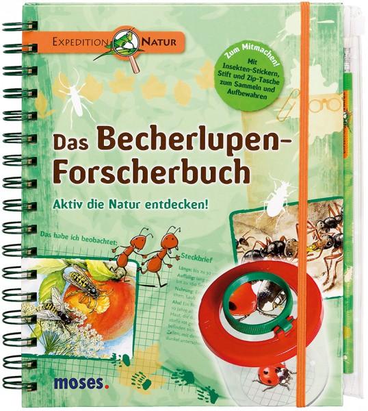 """""""Das Becherlupen Forscherbuch"""" Aktiv die Natur Entdecken!"""