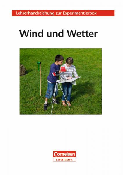 """Lehrerhandreichung """"Wind und Wetter"""""""