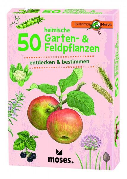 50 heimische Garten & Feldpflanzen