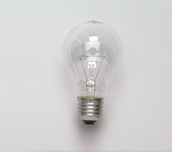 Glühlampe, E27/60 W