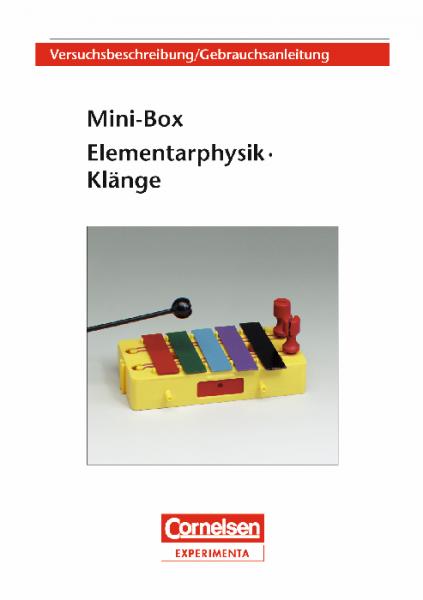 """Versuchsanleitung """"Mini-Box Klänge"""""""