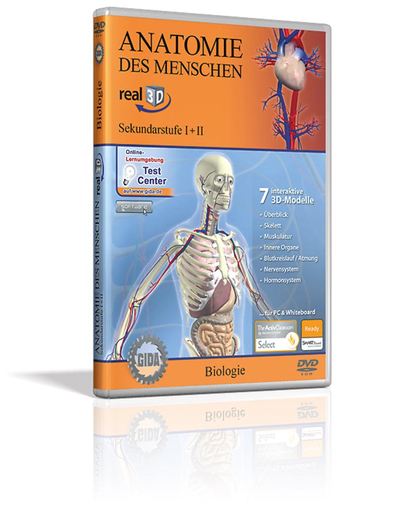 Real 3D Software - Anatomie des Menschen | Softwares | Biologie ...