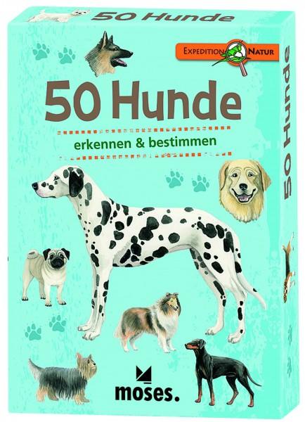 50 Hunde Bestimmungskarten