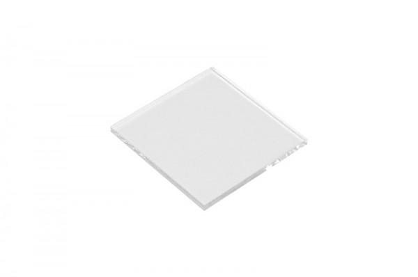 Glasplatte, 50x50x3 mm