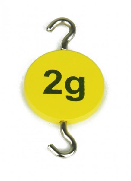Hakengewicht 2 g, Profi
