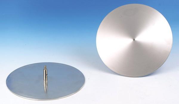 Kondensatorplatten auf Gewindestiel, Paar