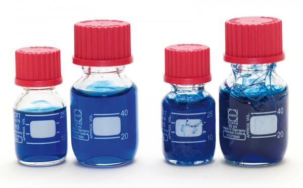 Laborflasche Kunststoffüberzogen