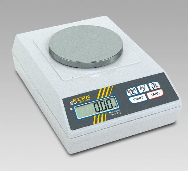 Elektronische Präzisionswaage, 200 g/0,01 g
