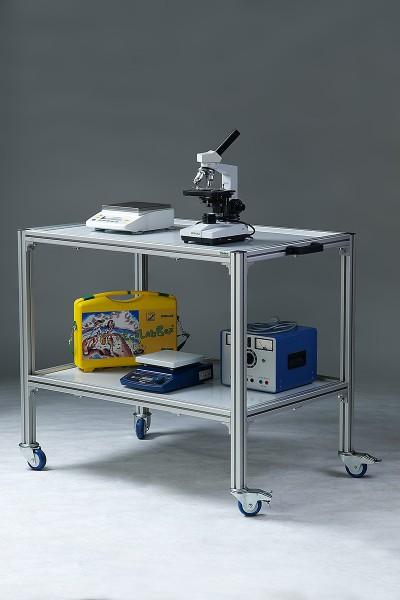 Geräte- und Labortransportwagen mit Polypropylenplatten (PP)