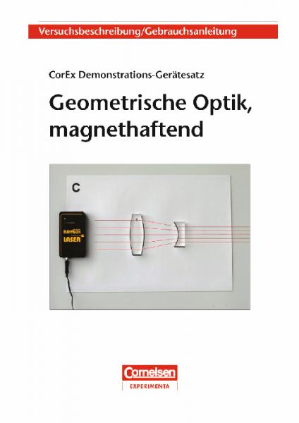 """Versuchsanleitung """"Geometrische Optik, magnethaftend"""""""