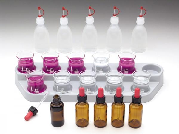 WINLAB-Becher und Tropfenflaschen-Set