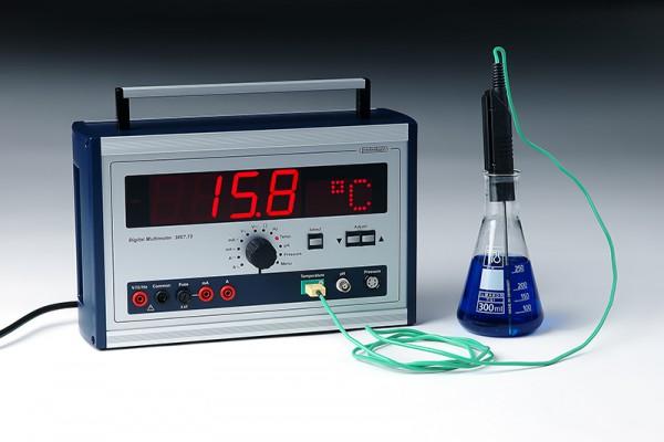 Temperaturfühler als Tauch - Einstechfühler, -50 +800°C, 130mm lang, 3mm Durchmesser, Zubehör zu 620
