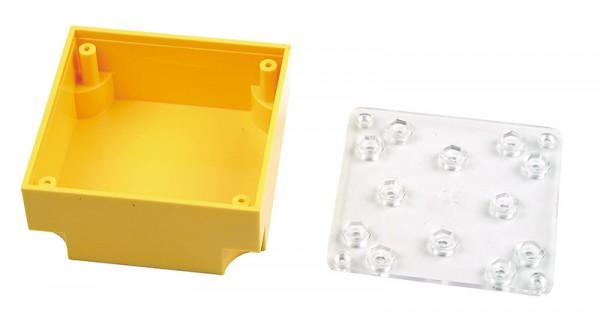 STBD Leerbaustein mit transparenter Grundplatte